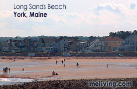 York Maine - long sands beach
