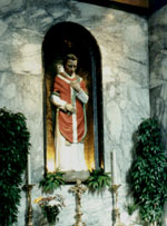 Shrine to St. Valentine