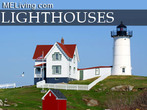 Maine lighthouses, harbor lights, historic maine lighthouses
