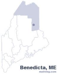 Benedicta, Maine