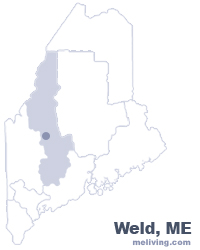 Weld Maine  Map