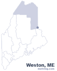 Wales Maine  Map
