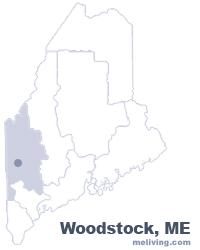 Woodstock Maine  Map
