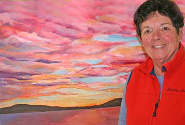 Maine Artist Innkeeper Sandra Tardo-Long