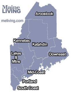 maine-maple producers, vacation-map