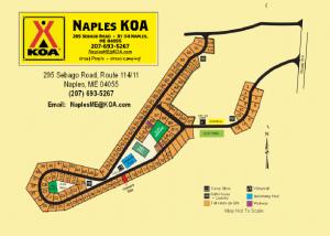 Naples Maine KOA Camping Cabin Rentals
