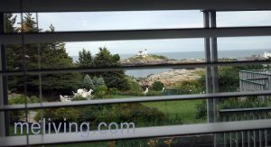 York Maine Lodging with a view of Nubble Lighthouse
