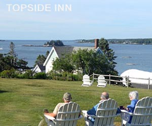 Boothbay Harbor Maine Inn Lodging at Topside Inn