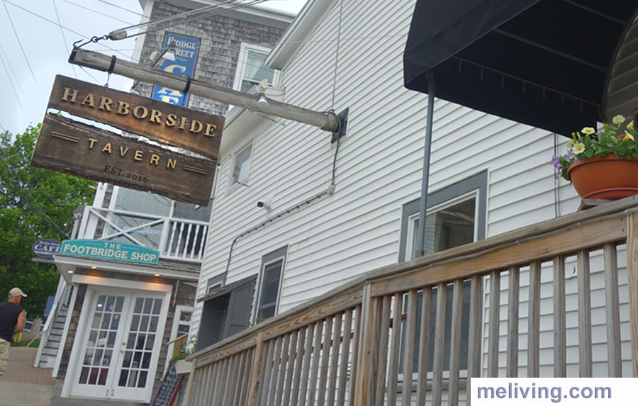 Harborside Tavern Boothbay Harbor Maine Breakfast Lunch Dinner Fine Dining