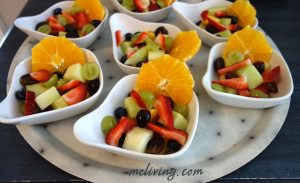 Fresh Fruit Cups - Topside Inn