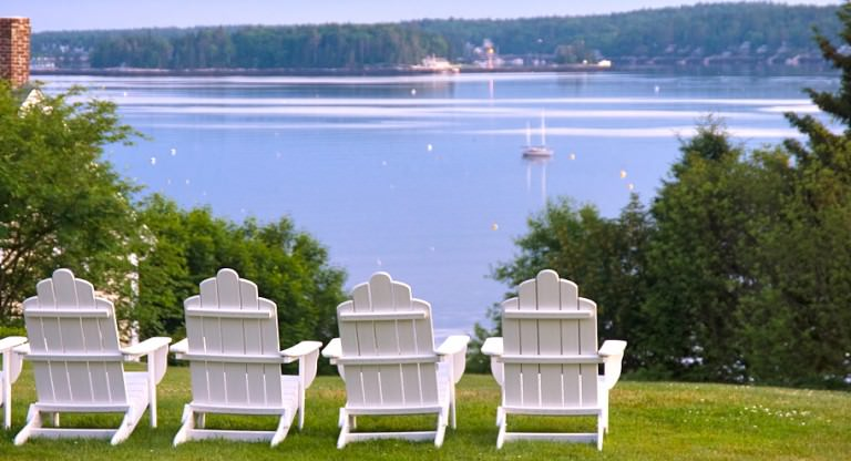 Relax at Topside Inn, Boothbay Harbor, Maine
