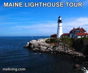 Maine Lighthouse photo tour