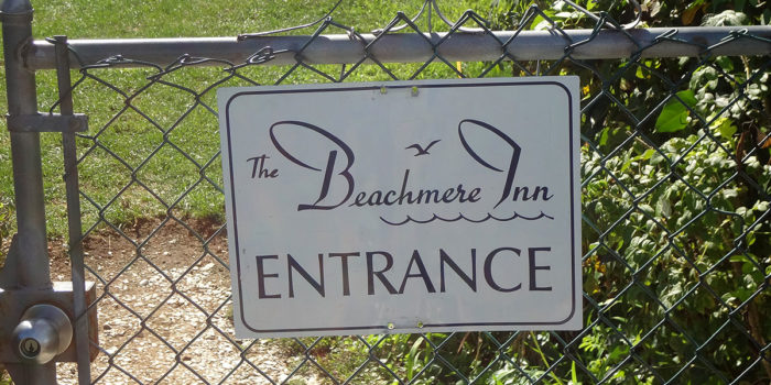 Southern Maine Inn Resorts Maine Vacations Beachmere Ogunquit ME Sign